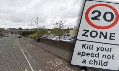 Markethill 20mph zone