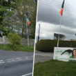 Bessbrook Camlough sign vandalised