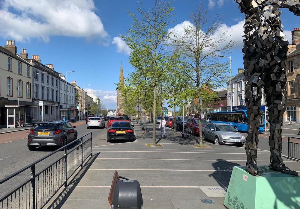 Lurgan town centre