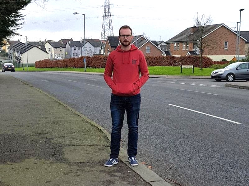 Old Portadown Road in Lurgan with Ciaran Toman