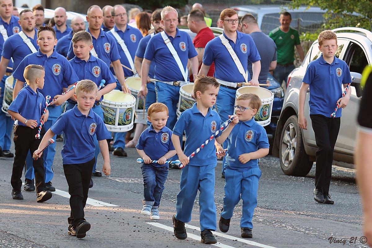 Centenary parade in Armagh