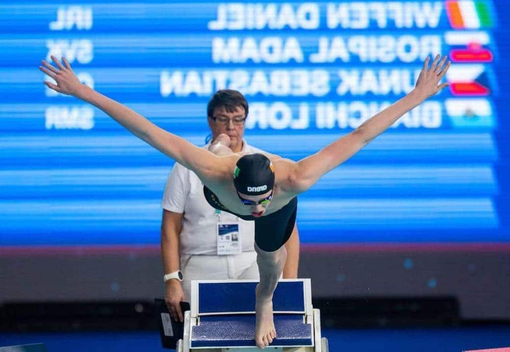 Daniel Wiffin swimmer