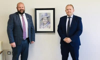 Mark baxter and Gareth Wilson on Queen's Jubilee