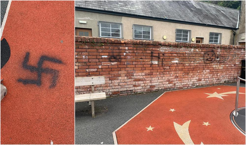 Milford park graffiti