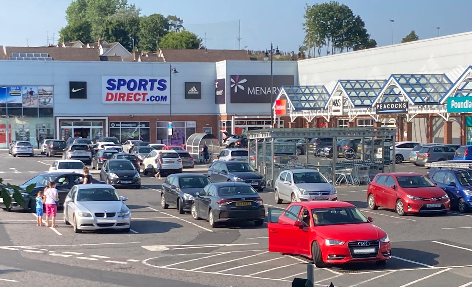 Spires Retail Park in Armagh