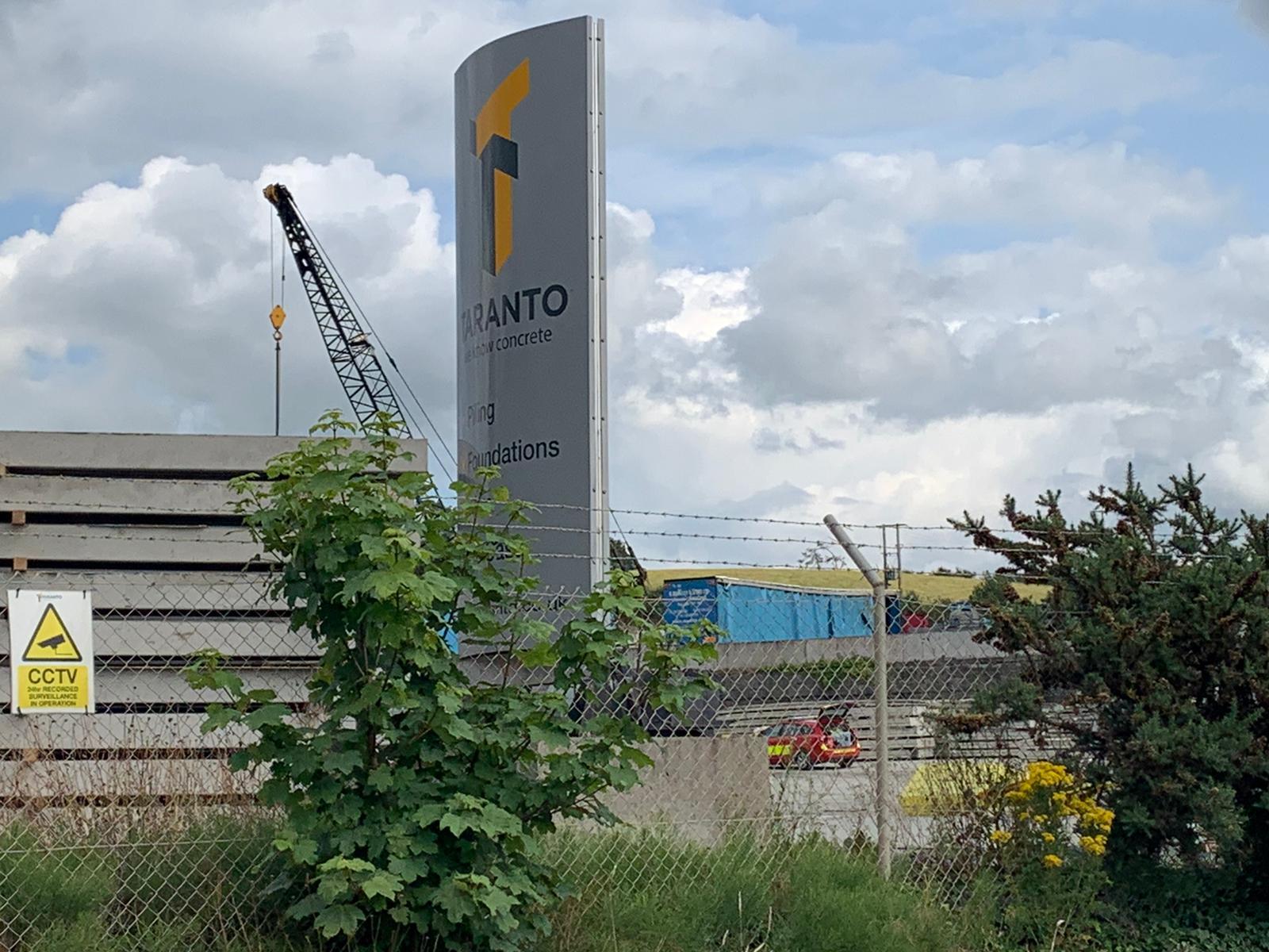 Taranto concrete factory in Tandragee