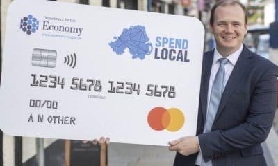 Economy Minister Gordon Lyons - Spend Local
