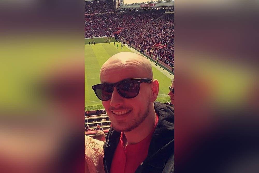 Ryan Butler Armagh Man Utd fan