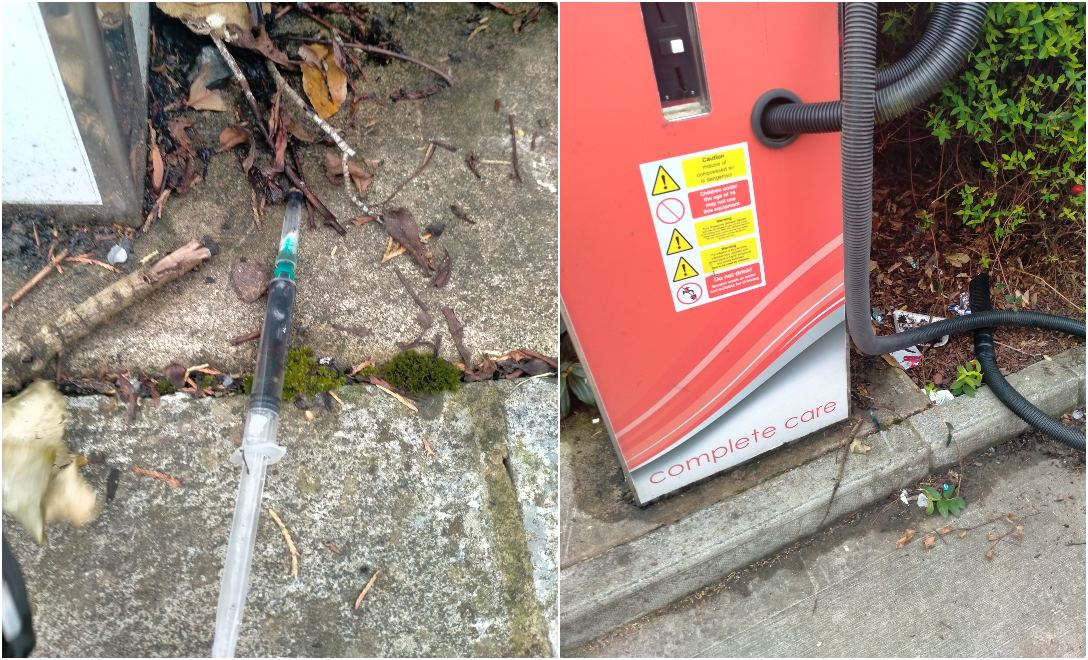 Syringe found in Armagh area