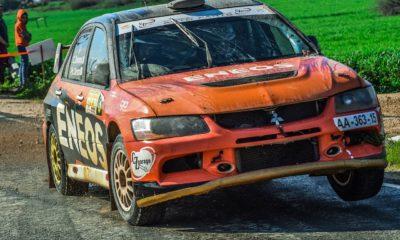 Rally car