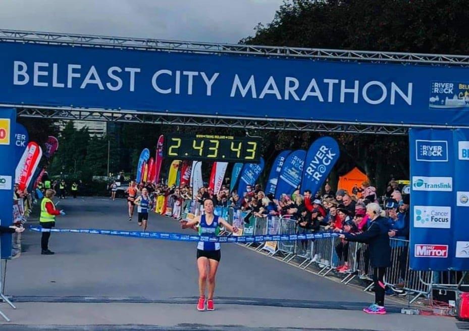Fionnuala Ross Belfast City Marathon